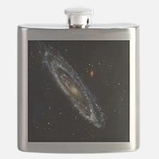 Andromeda Galaxy, UV image - Flask
