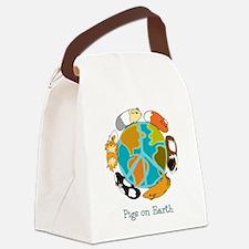 Unique Cavy Canvas Lunch Bag