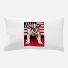 All American Bulldog Pillow Case