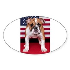 All American Bulldog Decal