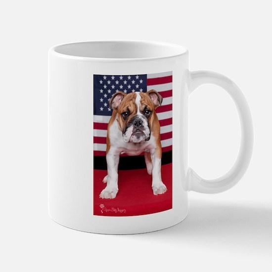 All American Bulldog Mug