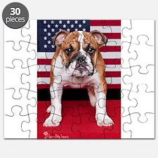 All American Bulldog Puzzle