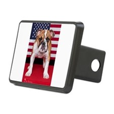 All American Bulldog Hitch Cover
