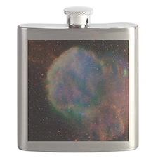 Supernova remnant IC 443, composite image - Flask