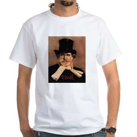 Verdi White T-Shirt