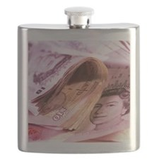 British currency - Flask