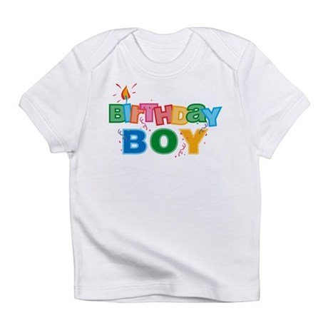 Birthday Boy Letters Infant T-Shirt