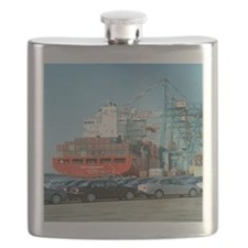 Container ship - Flask