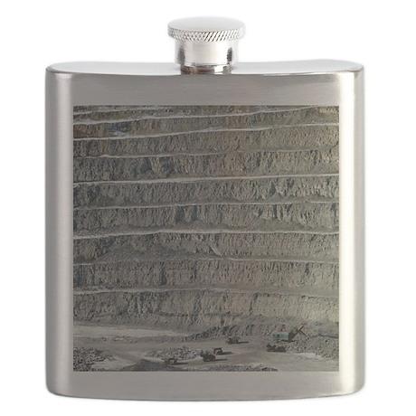 Kimberlite mine - Flask