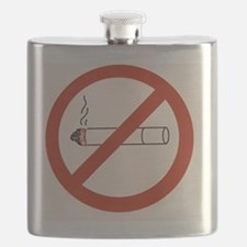 No smoking sign - Flask