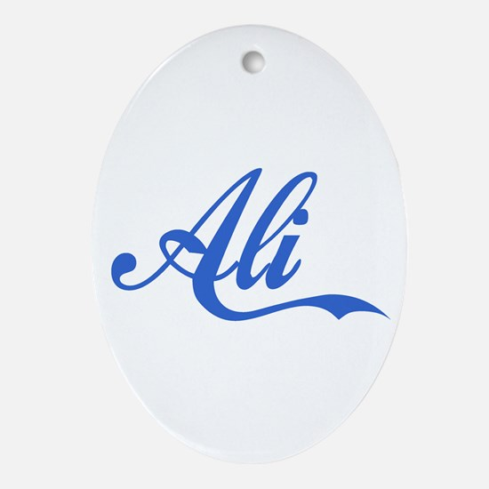 Ali-2.png Ornament (Oval)