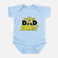 This Tennis Dad Rocks copy.png Infant Bodysuit