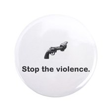 "Stop violence 3.5"" Button"
