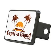 Captiva Island - Palm Trees Design. Hitch Cover