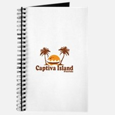 Captiva Island - Palm Trees Design. Journal