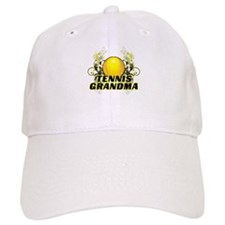 Tennis Grandma (cross).png Baseball Cap