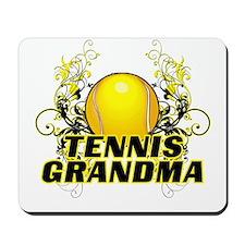 Tennis Grandma (cross).png Mousepad