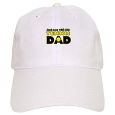 Dont Mess With This Tennis Dad copy.png Baseball Cap