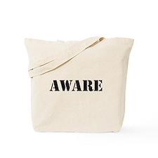 Aware Tote Bag