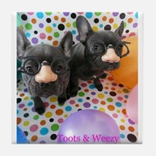 Toots & Weezy Tile Coaster