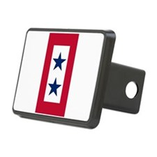 Blue Star Flag 2 Hitch Cover