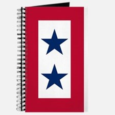 Blue Star Flag 2 Journal