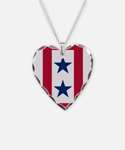 Blue Star Flag 2 Necklace