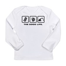 Excavator Long Sleeve Infant T-Shirt