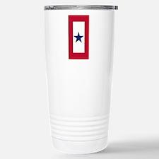 Blue Star Flag Stainless Steel Travel Mug