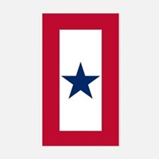 Blue Star Flag Sticker (Rectangle)