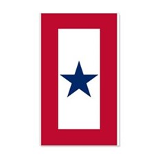 Blue Star Flag Wall Decal