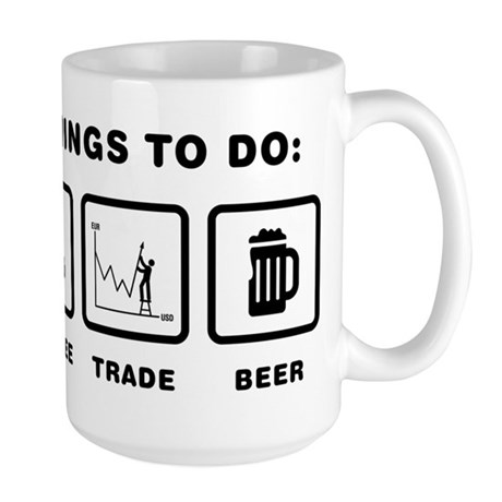 Financial Trader Large Mug
