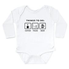 Financial Trader Long Sleeve Infant Bodysuit