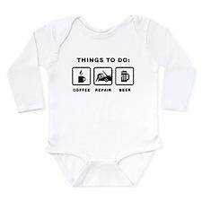 Mechanic Long Sleeve Infant Bodysuit