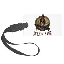 Molon Labe Spartan w Carbine 3 Luggage Tag