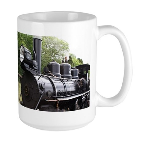 Steam train, Wales, United Kingdom 2 Large Mug