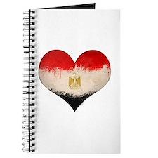 Egyptian Flag Heart Journal