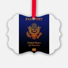 PASSPORT(USA) Ornament
