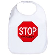 Stop Casandra Bib