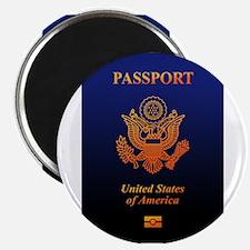"""PASSPORT(USA) 2.25"""" Magnet (10 pack)"""