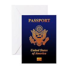 PASSPORT(USA) Greeting Card