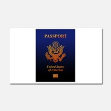 PASSPORT(USA) Car Magnet 20 x 12