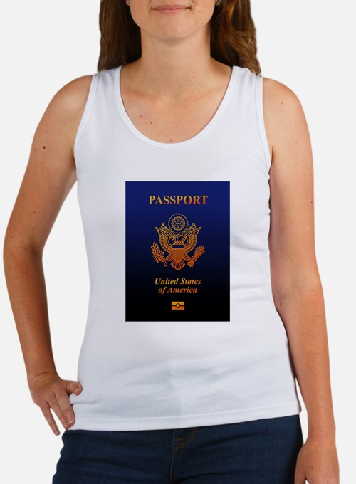 PASSPORT(USA) Women's Tank Top