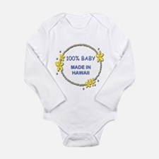 Baby Made in Hawaii Body Suit