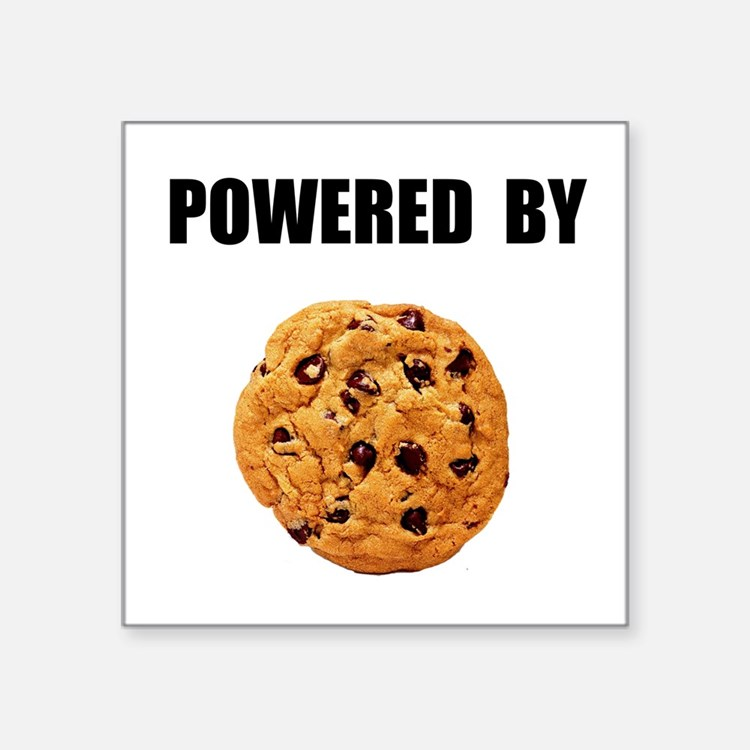 Powered By Cookie Sticker