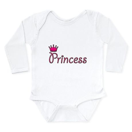 Princess Long Sleeve Infant Bodysuit