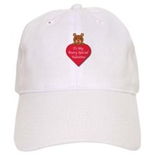 A Beary Special Valentine Baseball Cap
