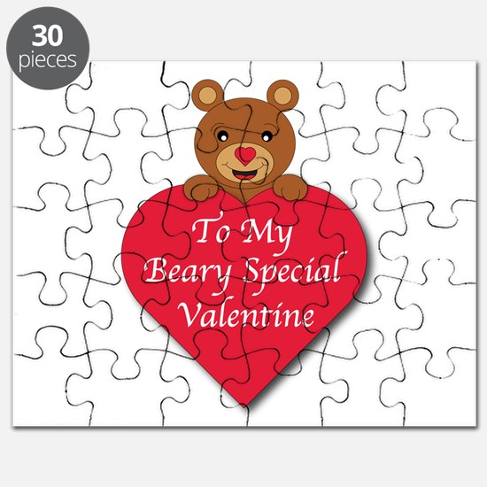 A Beary Special Valentine Puzzle