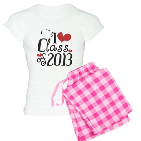 I heart Class of 2013 Women's Light Pajamas