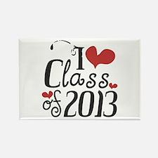 I heart Class of 2013 Rectangle Magnet